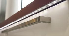 Küchengriff LED Kantenbeleuchtung ELST