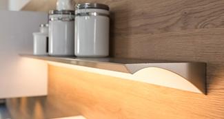 Küchengriff LED Wandbord ABEL