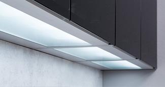 Küchengriff LED Beleuchtungsboden KGEL