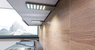 Küchengriff LED Beleuchtung ELIP