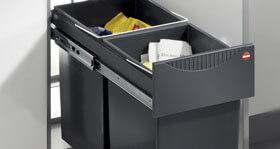 Küchengriff 2-fach Müllsammler EA 2